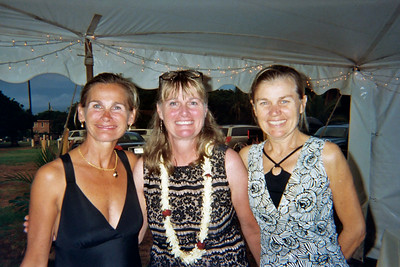 The Prouty girls -- Lynnie, Terrie, and Patty