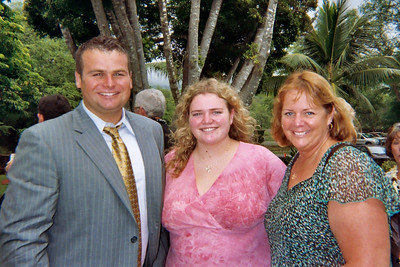 Sam and Ali and Kathy Prouty