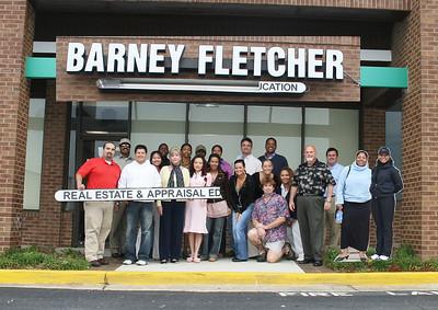 March/April '07 - Barney Fletcher  Class Pic