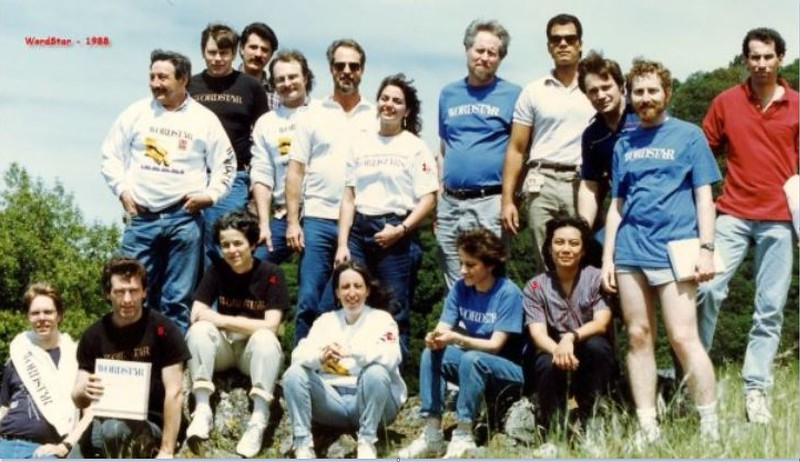 WordStar Pals in 1988