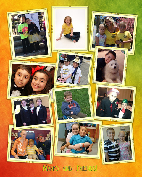 Mario-Lemonade Stand Collage