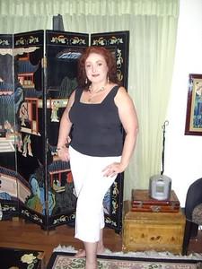 Marion in Tamara's new condo