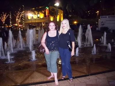Amara & Tamara at Fountain in Palm Beach