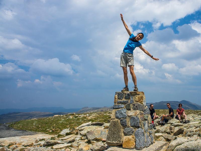 Toni starts her seven summits with a successful climb of Mt Kosciuszko.