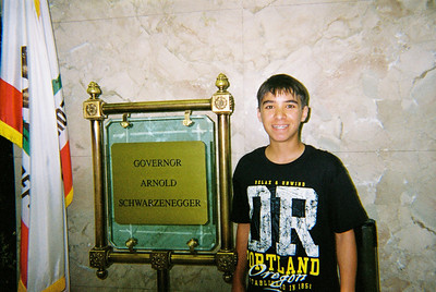 Kyle hoping to meet Arnold