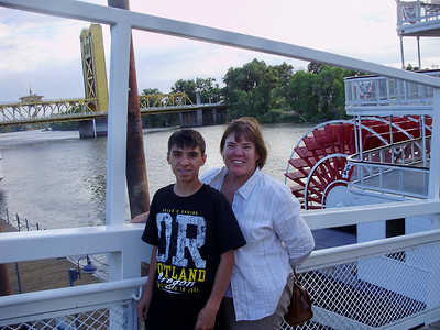 Mary Ann & Kyle near the Delta King