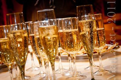 Bubbel - självklart en sådan här kväll!