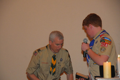 Matts Eagle Ceremony