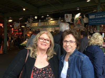 Maureen and Nancy - last day :(