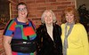 Kathryn (Rhinehart) Bassett, Margaret Meier, Janice (Dow) Stover