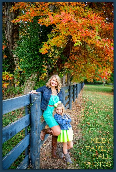 Melissa & Kayla -  2014 Fall Photos