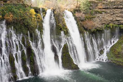 The regulatory photo of Burney Falls.