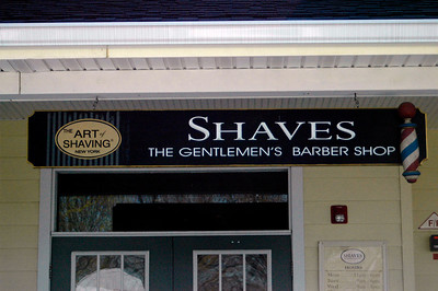 The shaving place