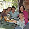 Clem, Victoria, Sebastian, Andrea & Santiago