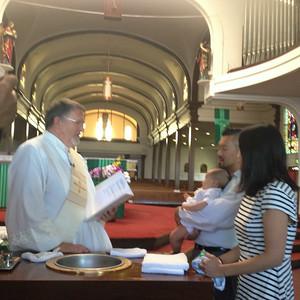 Miles' Baptism