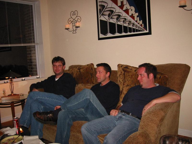 David, Mike and Brian.