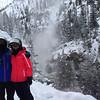 Sammi and I at Firehole Falls