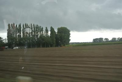 Maar heb wel geen drup regen gehad van de ganse dag...