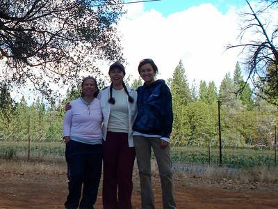 Mountain Bounty Farm 09-25-2013 Mom, me and Trish