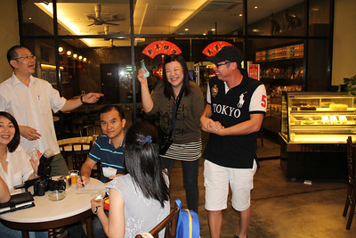 January 21, 2012 - Class 1993 CNY Gathering 2012 @ Elephant Bean, Sai Kee 434, Muar, Johore
