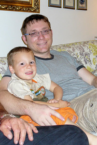 Gavin and Uncle Michael