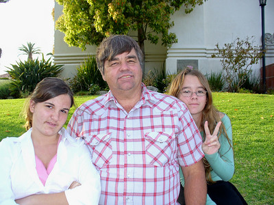 Jimmy Mulvihill with daughters Megan and Katie