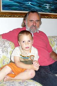Gavin and his Grandpa