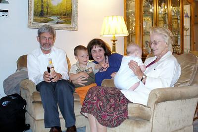 Joey Smith, Gavin, Mary, Trevor, Pat Smith