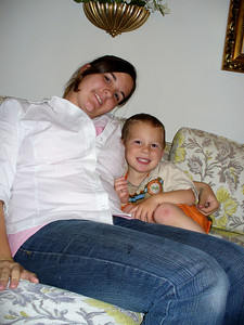 Cousins -- Megan Mulvihill and Gavin Hollywood