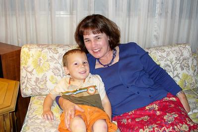 Gavin and Aunt Mary