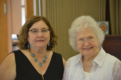 Margaret McLane and June Potochnik
