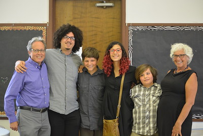 George Osner, Coleman Solis, Isaiah Sawyer,  Isabella Solis , Elan  Sawyer and Elise Osner