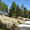 The Steyn's beautiful home, with photovoltaic arrays. © 2010 Doug Moench