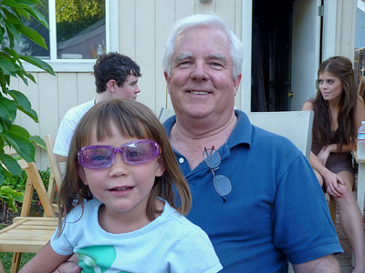 Zoe and Grandpa Roger
