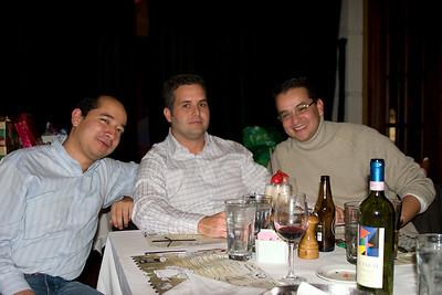 Los three amigos...