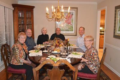 Diana & Paul Williams, Judy & Don Spruill, Elmer & Evelyn Akin