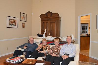 Paul & Diana Williams; Evelyn & Elmer Akin