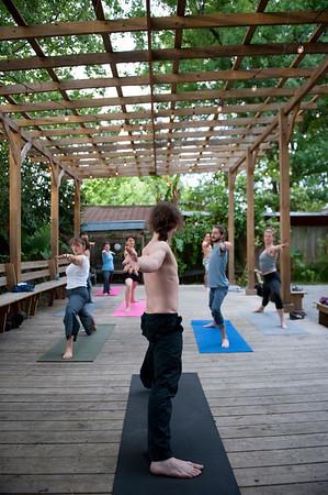 neil, yoga