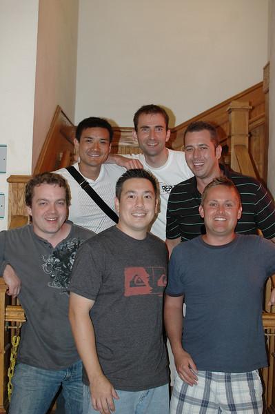 Neil, Basti, Rick, Nate, Tony, Grant. May 28, 2012. Cafe Pesto.<br /> Not Pictured: Jenn, Aleks, Nina