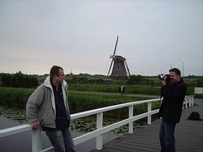 Kinderdijk windmills with Sasha & Renat