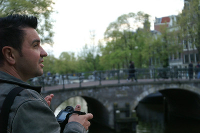 Zoltan in Amsterdam 2009
