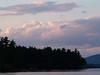 Sunset across Langdon Cove