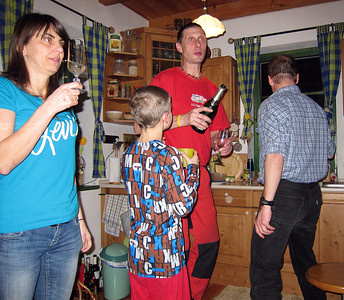 New Years Eve party at Mackarna, Dec 31, 2013.