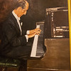 Portrait of Vladimir Horowitz in showrrom