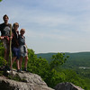 Rob and family, on a hike on the Appalachian Trail.
