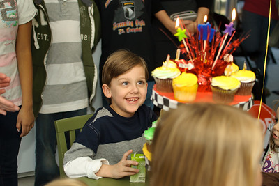 Nicholas 5th Birthday Party Dec 2012