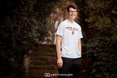 100217 Nick Ferrarini  Senior Portrait Session Creative Olsen