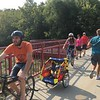 Monon Trail, beginning to get crowded