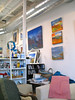"""In the Tip Top Media and Arts Building, White River Junction, Vermont. A visit to the studio of Georgina Forbes, and some scenes in the hallways and the café.<br /><br /><a href=""""http://www.tiptopmedia.com/"""">Tip Top Media and Arts Building</a>"""