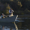 Friday morning before work - the fishermen are out at sunrise on the Sacramento River in Redding.